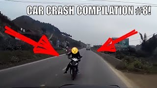Car Crash Compilation #8! Car Crashes and Car Accident on Dashcam(DVR) on roads of Russia and USA!