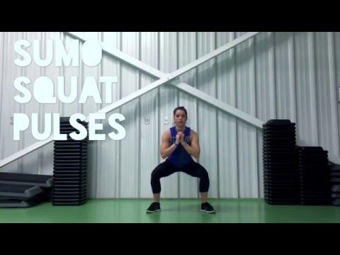 Sumo Squat with Pulse