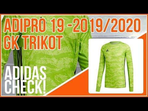 adidas adipro 19 GK das Torwarttrikot 2019/2020