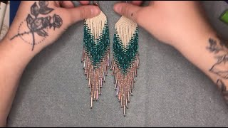 Fringe Earrings Tutorial