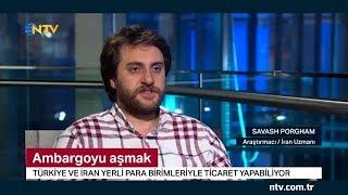 ABD'nin İran Ambargolarını NTV'de Konuştuk