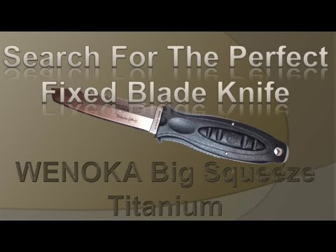 KNIFE REVIEW Wenoka Big Squeeze Titanium
