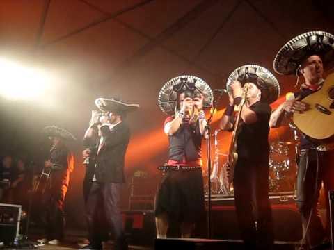 Lindefeesten - Band Zonder Banaan - Mexicaans - 22 april 2011 Sambeek