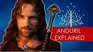 Download Youtube: Aragorn's sword: Andúril EXPLAINED [ Lord of the Rings lore l Tolkien ]