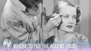 Hollywood Eyebrows Makeup Tutorial (1938) | Vintage Fashions