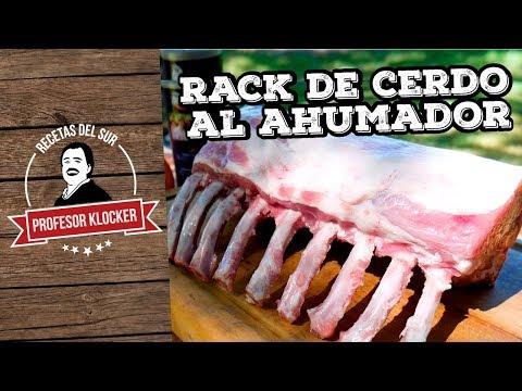 Rack de Cerdo al Ahumador - Recetas del Sur