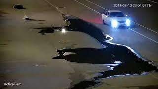 Жителей Будённовска возмутил водитель Приоры oн катался по центральной площади города