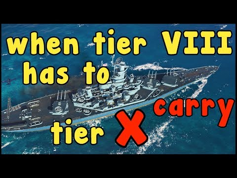 Alabama Carry Ship 2K17 || World of Warships