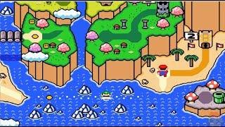 New Super Omega Mario 100% MULTIPLAYER WORLD 2 Part 1