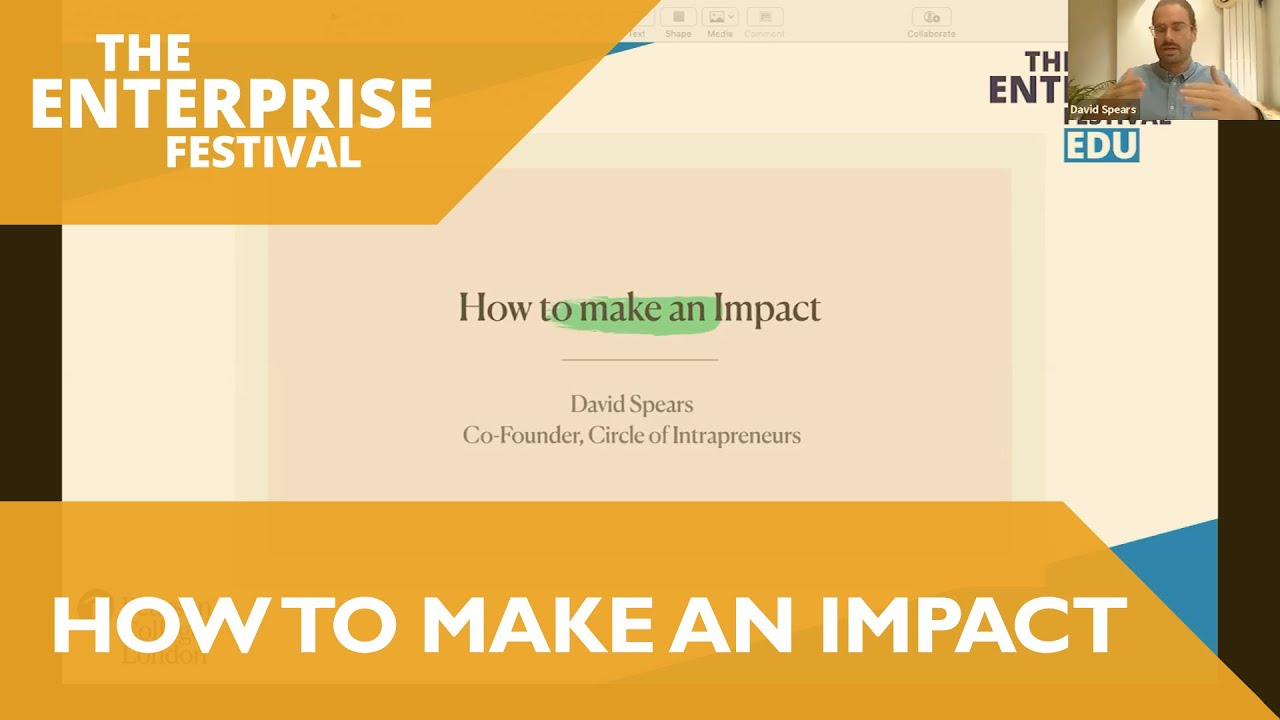 The Enterprise Festival: How To Make An Impact