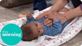 Baby Massage Techniques With Sharon Marshall and Lou Toosey | This Morning