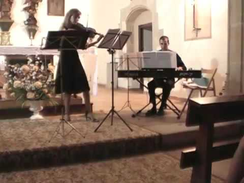Canon en Re Mayor de Johannes Pachelbel (Violín y Piano)