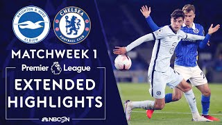Brighton v. Chelsea | PREMIER LEAGUE HIGHLIGHTS | 9/14/2020 | NBC Sports