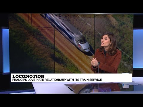 Why the massive rail strike? France's love-hate relationship with the SNCF