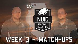 Week 3 - Match-Ups