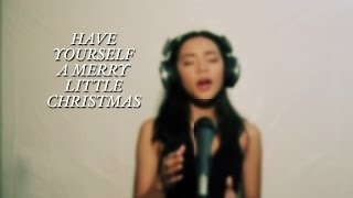 """Have Yourself A Merry Little Christmas"" Live vocals by Cameron Marie"