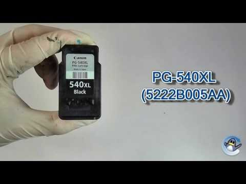 How to Refill Canon PG 540XL (5222B005AA) Black Ink Cartridge