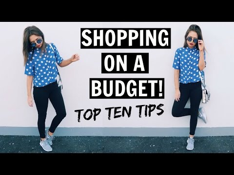 FASHION TIPS | Shopping on a Budget!