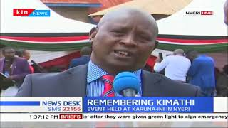 Nyeri Governor leads residents in celebrating Freedom Fighter Dedan Kimathi
