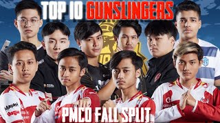 TOP 10 GUNSLINGERS   PMCO FALL SPLIT 2019   PUBG MOBILE