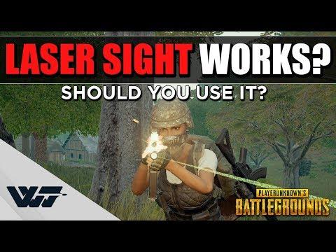 雷射瞄準器的真正用途 近戰神器?