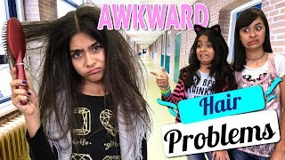 Awkward Hair Problems : Mercedes World // GEM Sisters