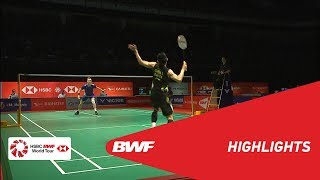 PERODUA Malaysia Masters 2019 | MS - SF - HIGHLIGHTS | BWF 2019