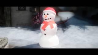 Skyrim=|=Теплое видео=|=атмосферные рождественские моды