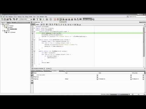 How to Use the NetBeans Debugger for Java