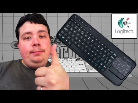 logitech wireless keyboard k400 manual