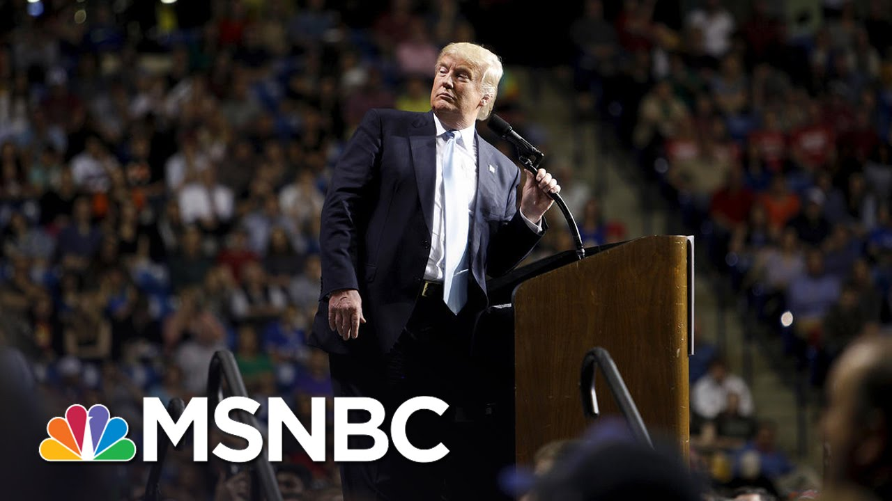 Man Charged With Assault At Trump Event   MSNBC thumbnail