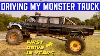 DRIVING My Abandoned $750 Toyota MONSTER TRUCK