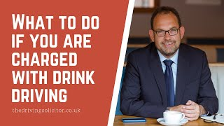 What to do if you are charged with drink driving