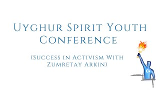 Success in Activism with Zumretay Arkin- USY Conference in English
