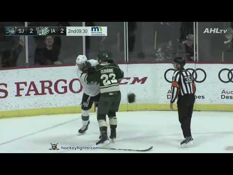Brandon Duhaime vs. Noah Gregor
