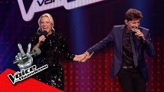 Koen Wauters verrast An Lemmens, met een duet! | Liveshows | The Voice van Vlaanderen | VTM