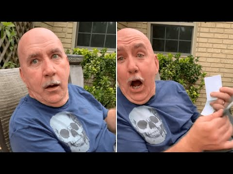 Man Gets Excited For A Heartfelt Surprise