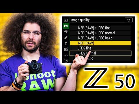 External Review Video 2ZEYat5eznI for Nikon Z 50 APS-C Mirrorless Camera