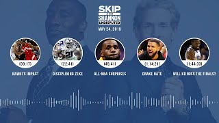 UNDISPUTED Audio Podcast (05.24.19) with Skip Bayless, Shannon Sharpe & Jenny Taft | UNDISPUTED
