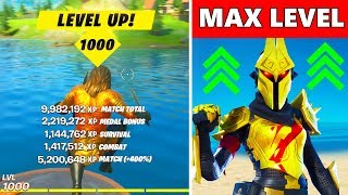 FASTEST WAY TO LEVEL UP IN SEASON 3 - Fortnite XP GLITCH, XP Coin Locations & Unlock Tier 100 Skins