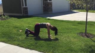 Booty Burn Bodyweight Workout!
