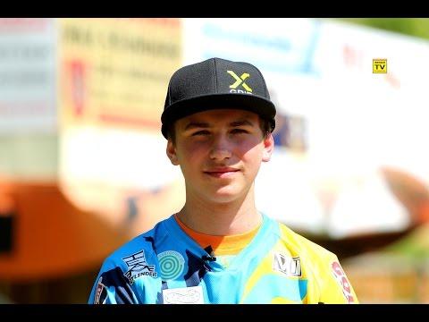 werace.TV Interview mit Florian Dieminger Motocross Nachwuchs aus Seitenstetten