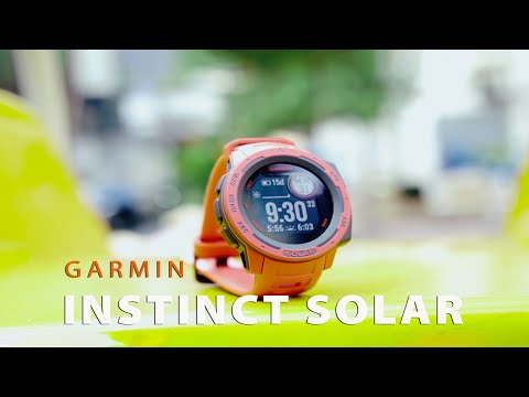 Đồng hồ thông minh Garmin Instinct Solar Series