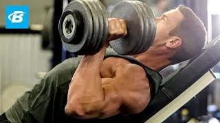 Build a Bigger Chest with Brandan Fokken's Best Chest Workout 出處 Bodybuilding.com