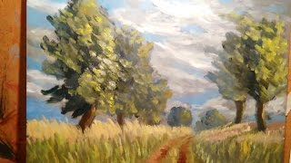 Road To Clive - Painting Lesson