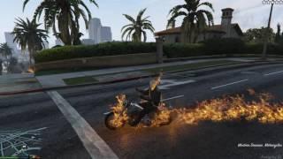 GTA 5 Mods #26 - Ghost Rider đánh nhau với Hulk