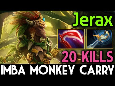 IMBA Monkey King Carry by Jerax with Deso + Echo Sabre 7.06 Dota 2
