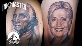 Best Tattoos of Ink Master (Season 7) | American Political Portraits