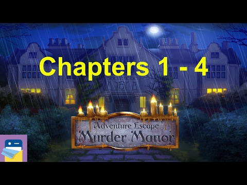 Adventure Escape: Murder Manor: Chapters 1, 2, 3, 4 Walkthrough Guide (by Haiku Games)