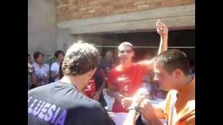 preview picture of video 'Chupinazo fiestas. Luesia, 2011'